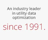 An industry leader in utility data optimization since 1991